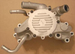 94-96 LT1 Impala water pump, heater outlets on passenger side