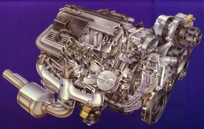 LT1 Gen II Small Block Engine