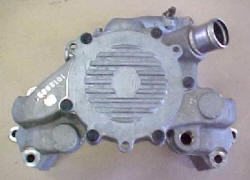 92 LT1 Corvette water pump (93-96 similar), heater oulet on passenger's side