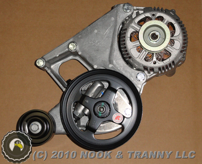 Dsc additionally Dscn in addition Chevrolet C Installing Inch Drop Spring And Inch Drop Spindle as well Ls Camarogtos Ls Alternator Power Steering Pump Bracket as well Img. on chevy ls engine accessory drive bracket