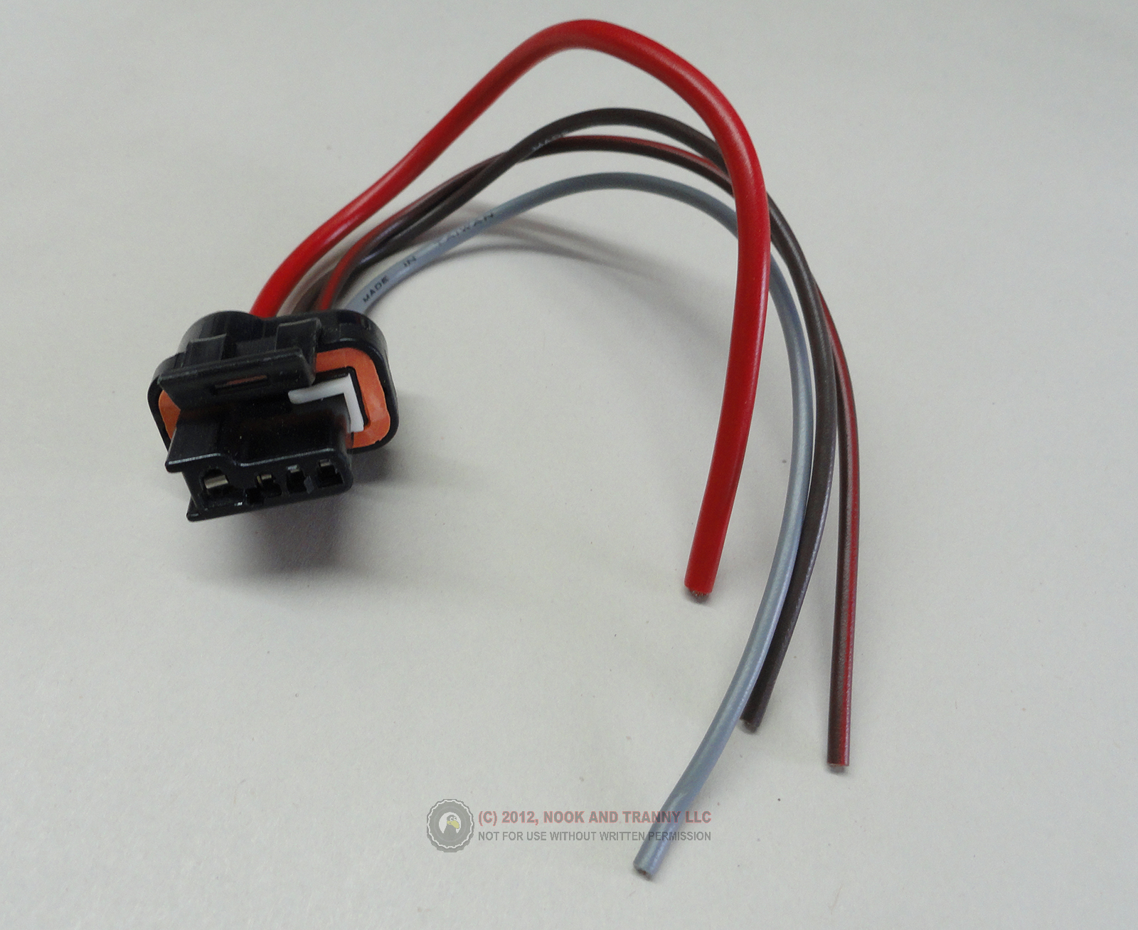 Amazing Nook And Tranny Wiring Connector Cs130 Alternator 87 97 V8 Camaro Wiring Cloud Oideiuggs Outletorg