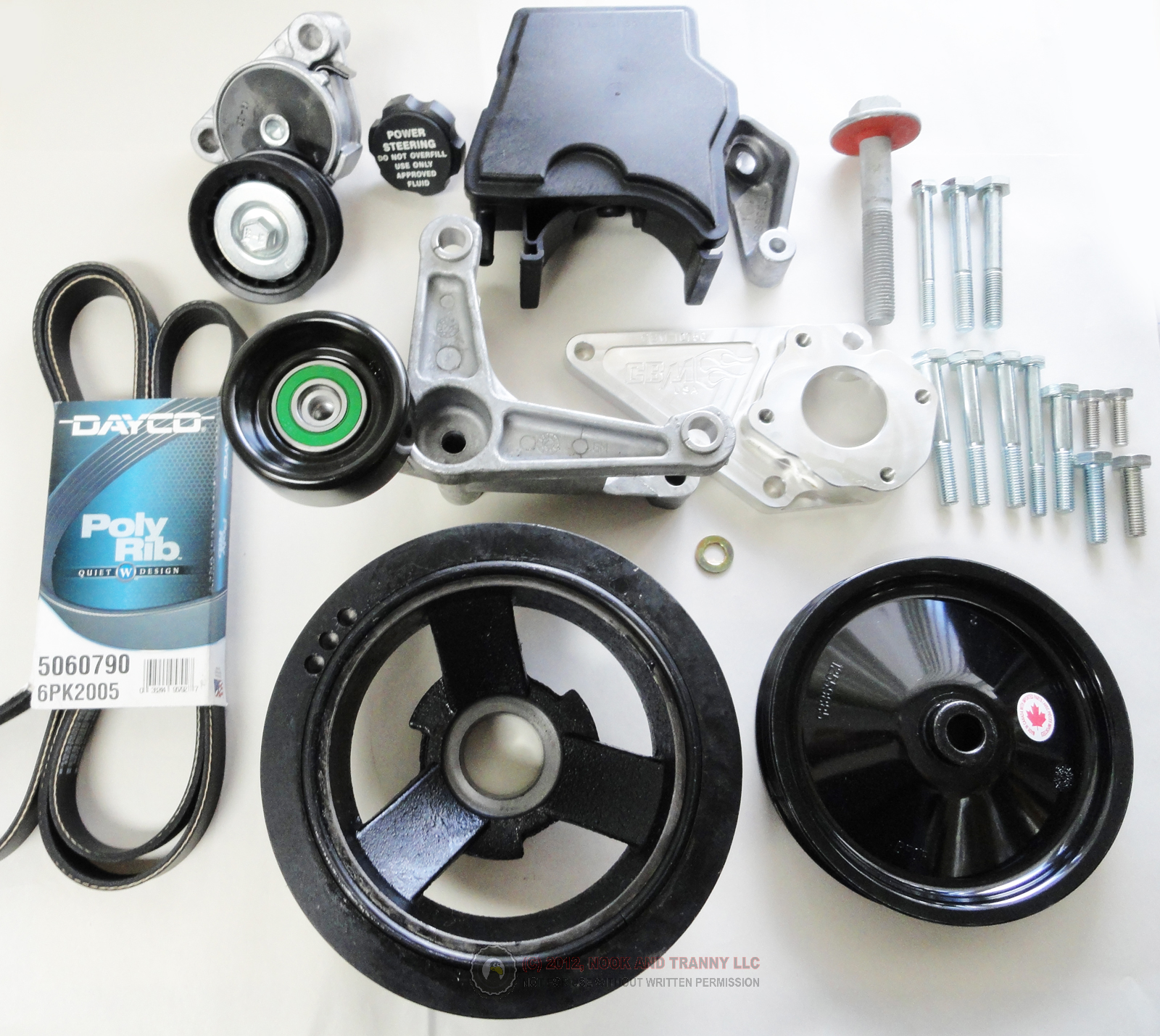 Accessories For Your Chevy Lt1: Nook And Tranny: Front Accessory Drive Kit, LS1 Camaro