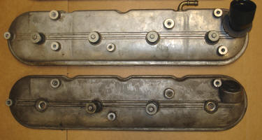 Valve covers differ in breather location, as well as angle of the filler tube/PCV location