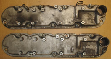 Valve covers differ in breather location, as well as the breather locations.